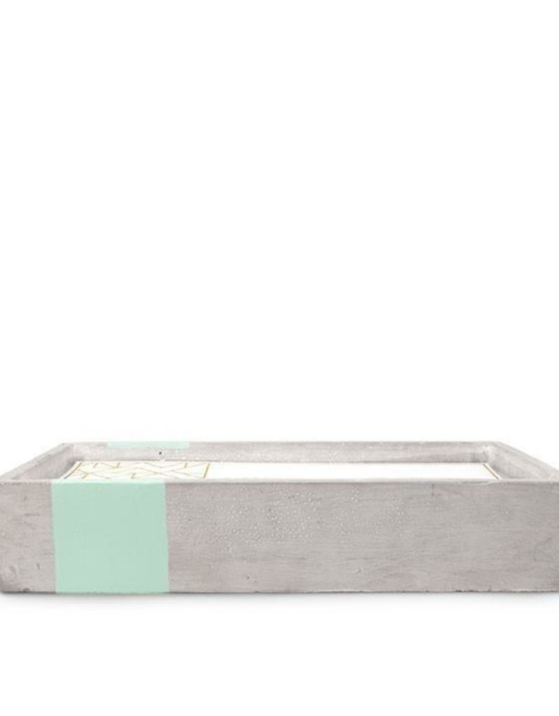 Paddywax Paddywax Urban Concrete Rectangle Candle {30oz}