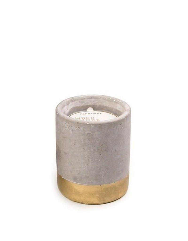 Paddywax Urban Concrete Pot Candle {3.5oz}