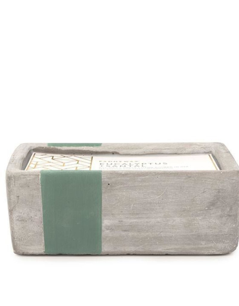 Paddywax Paddywax Urban Concrete Rectangle Candle {8oz}