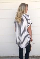Edgy Stripe Top