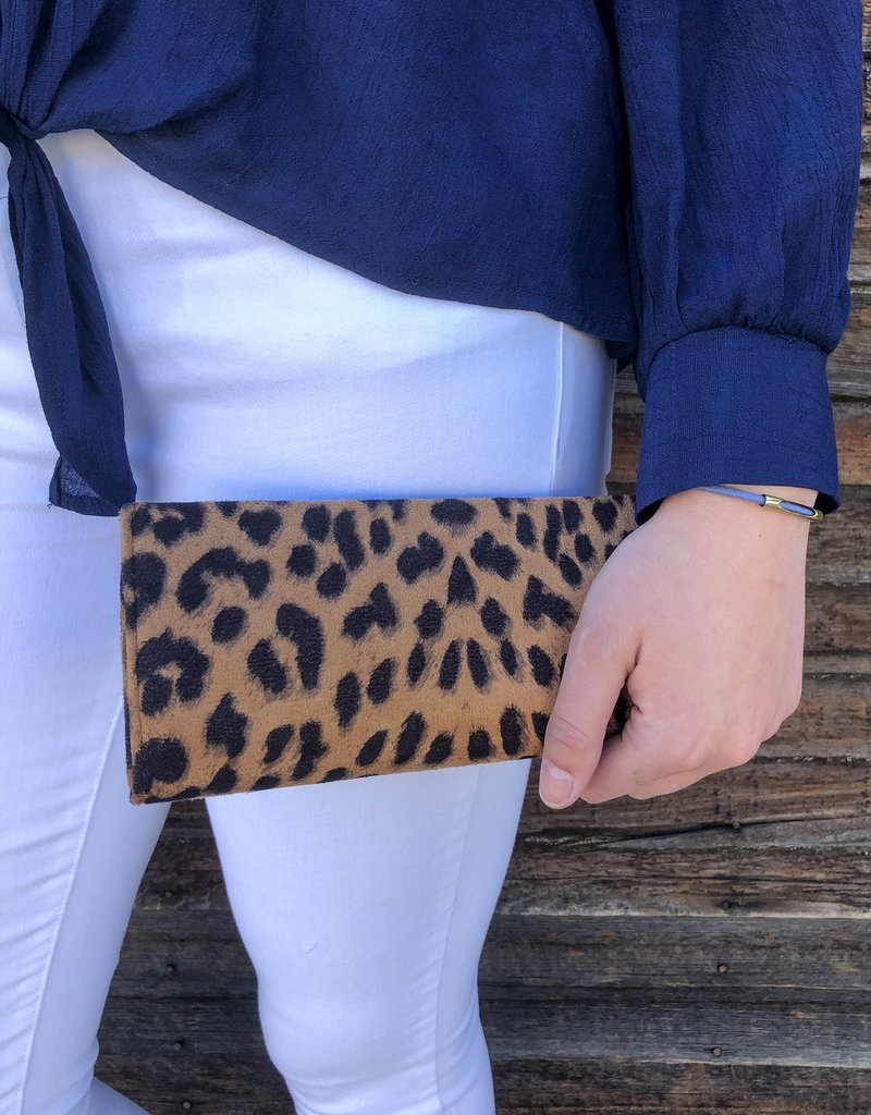 Leopard Print Wallet