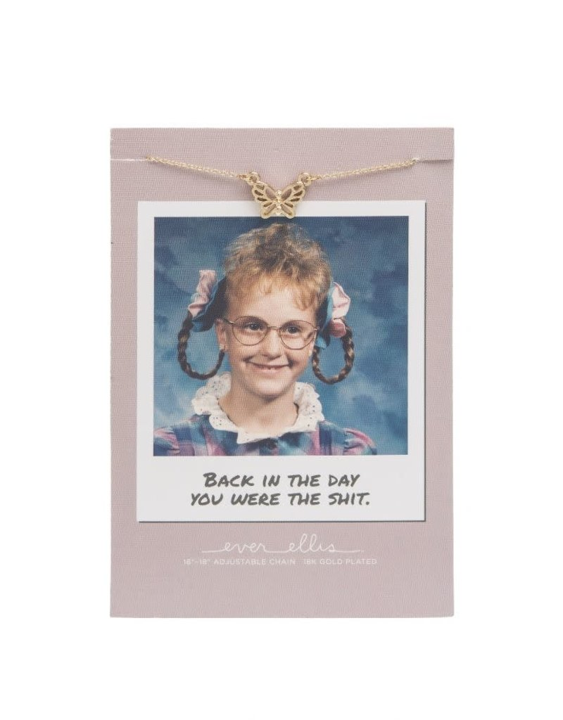 Ever Ellis Awkward Necklace |Back In The Day|
