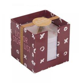 Ever Ellis Note Cube |Liquor Store|