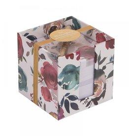 Ever Ellis Note Cube |Floral|