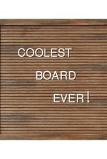 """14"""" Letter Board-Wood"""
