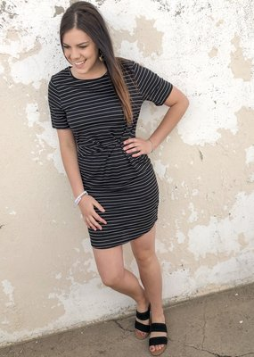 Stripe Form Dress