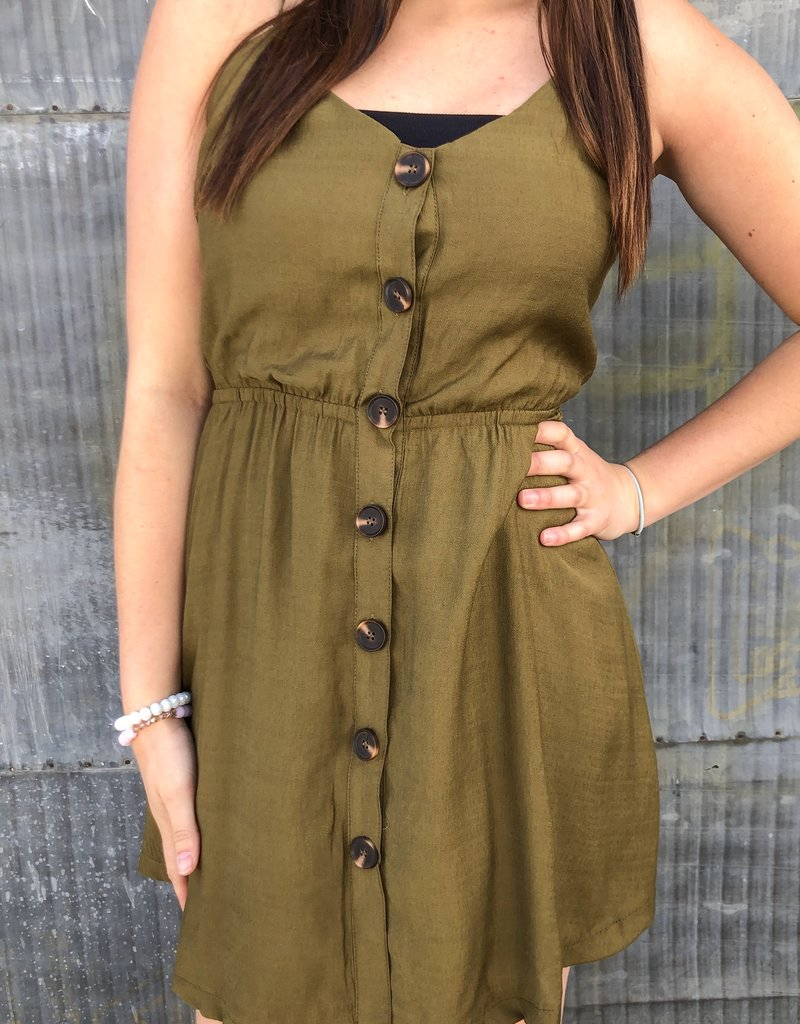 Bow Back Mini Dress