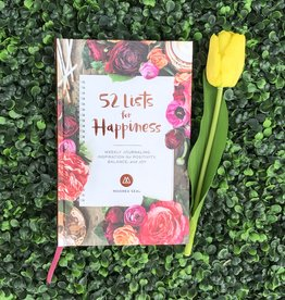 52 Lists Book: Happiness