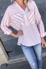 Amey Mixed Stripe Shirt