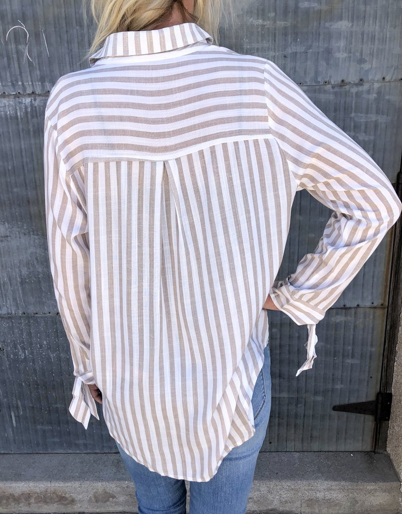 Regan Long Tie Sleeve Top