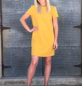 Short Sleeve Heavy Knit Dress
