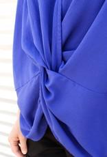 Short Dolman Sleeve Knot Top