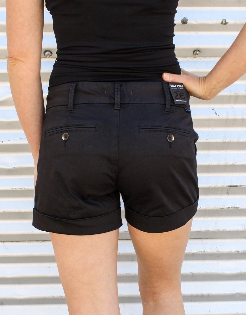 Dear John Denim Hampton Comfort Short |Black|