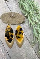 Marquise Shell Earrings