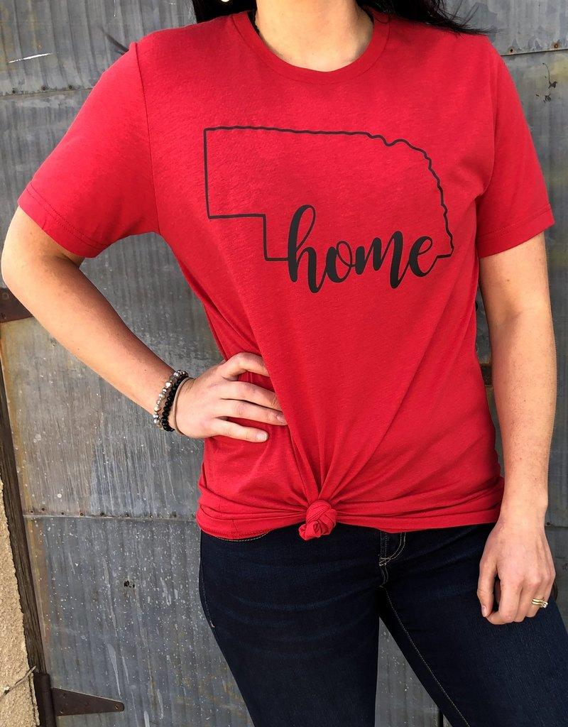 Nebraska Home Tee