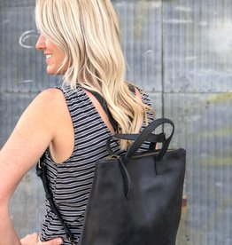 ABLE Abera Convertible Backpack |Black|