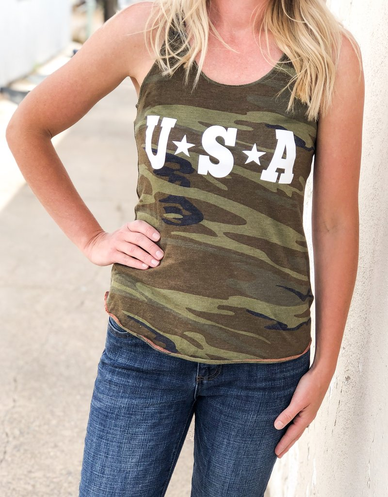 USA Camo Tank
