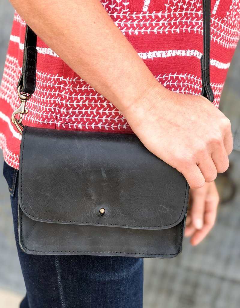 ABLE Chaltu Wallet Crossbody |Black|