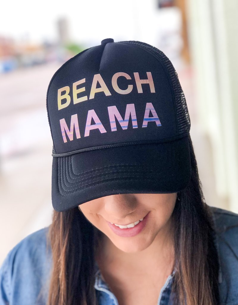 Trucker Hat |Beach Mama|