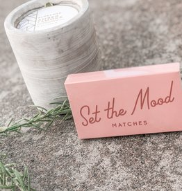 Paddywax Safety Matches |Set The Mood|