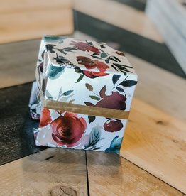 Ever Ellis Note Cube |Floral|