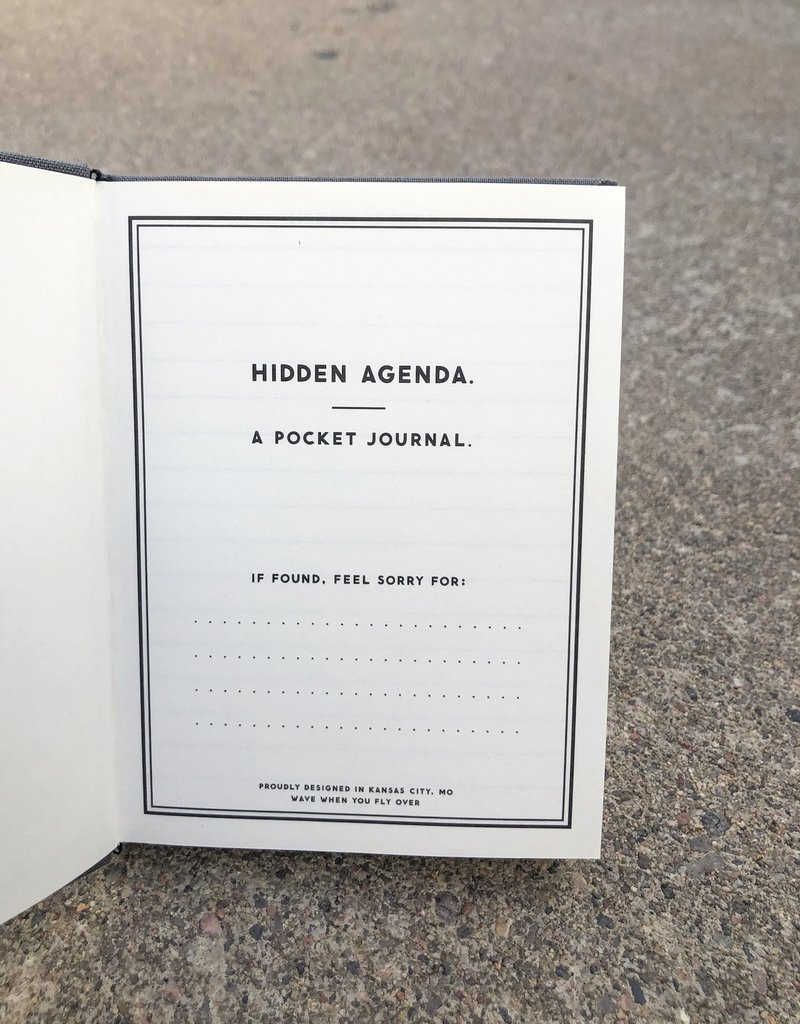 Hidden Agenda Journal