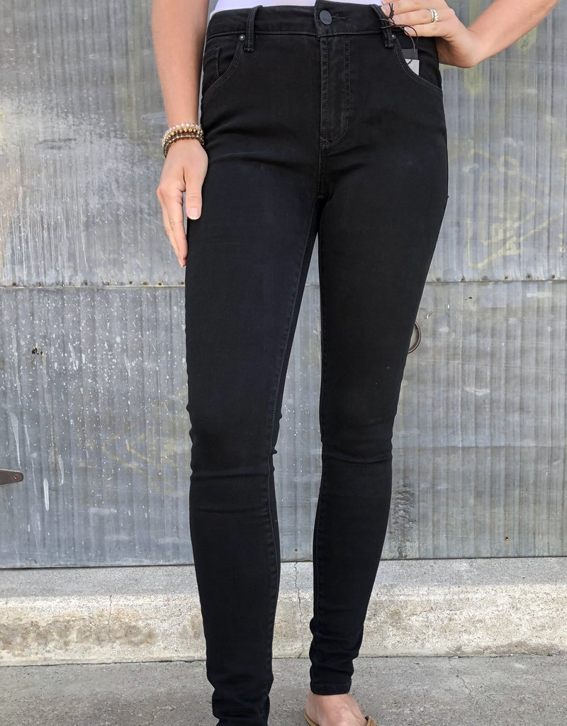 Dear John Denim Giselle High Rise Skinny Jean (Night)