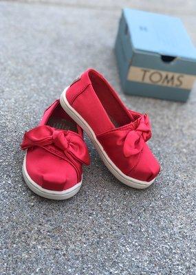 TOMS Classic Rose Cloud Satin/Bow