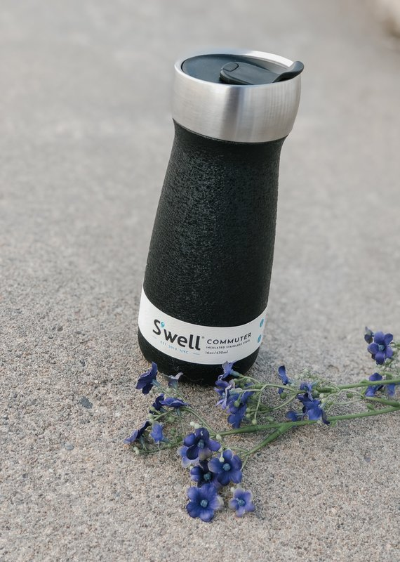 S'well 16 oz Commuter |Carbon Magnetite|