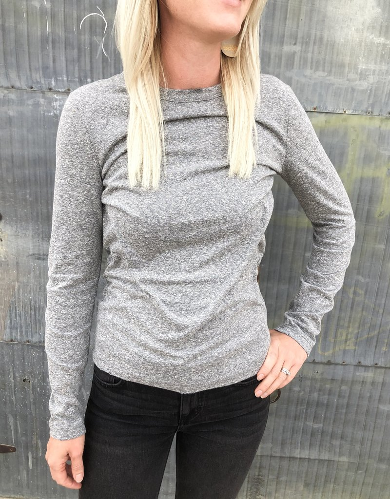 Z Supply The Triblend Long Sleeve Crew Top