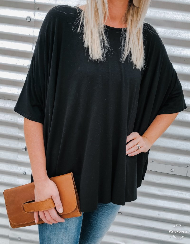 Asymmetrical Dolman Top