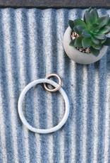 Snakeskin Key Ring