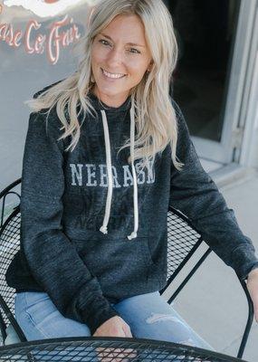 Retro Brand Nebraska Fleece Hoodie