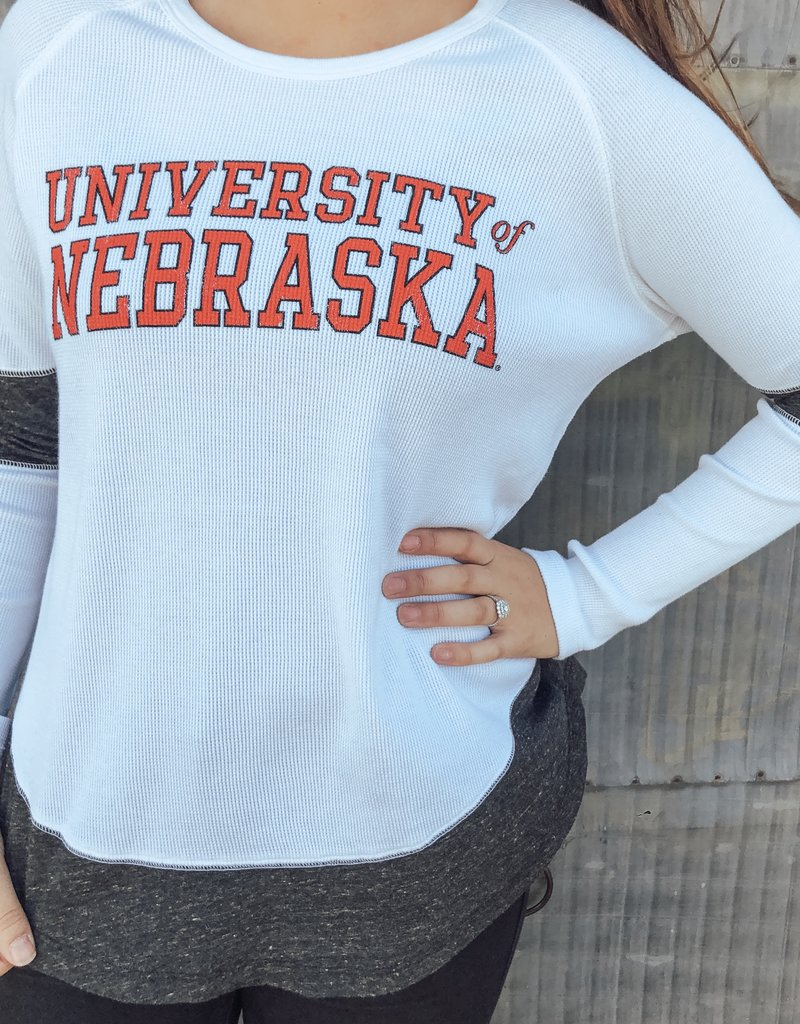 Retro Brand Nebraska Boyfriend Thermal