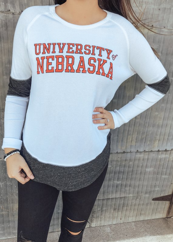Retro Brand Nebraska Boyfriend Thermal