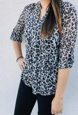 Jasmine Leopard Print Top