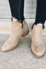 Thea Suede Ankle Bootie