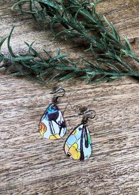 Jones & Lake Co Vintage Floral Earrings