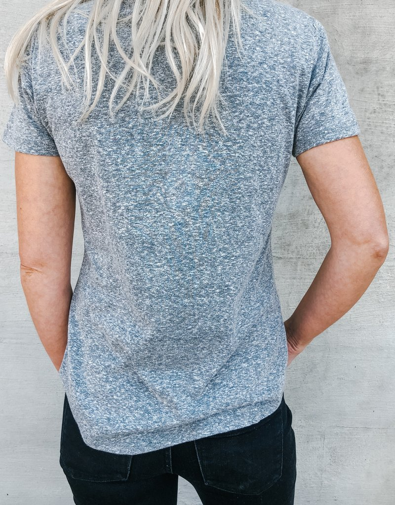 Z Supply The Triblend Pocket Tee