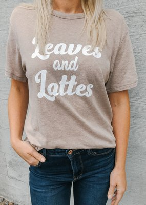 Leaves and Lattes Tee