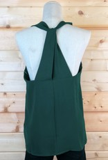 Back Cross Detail Sleeveless Top