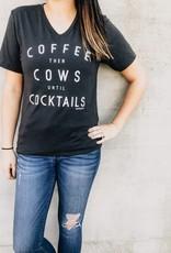 Rosebud's Coffee Then Cows Tee