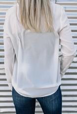 Long Sleeve V-Neck Top