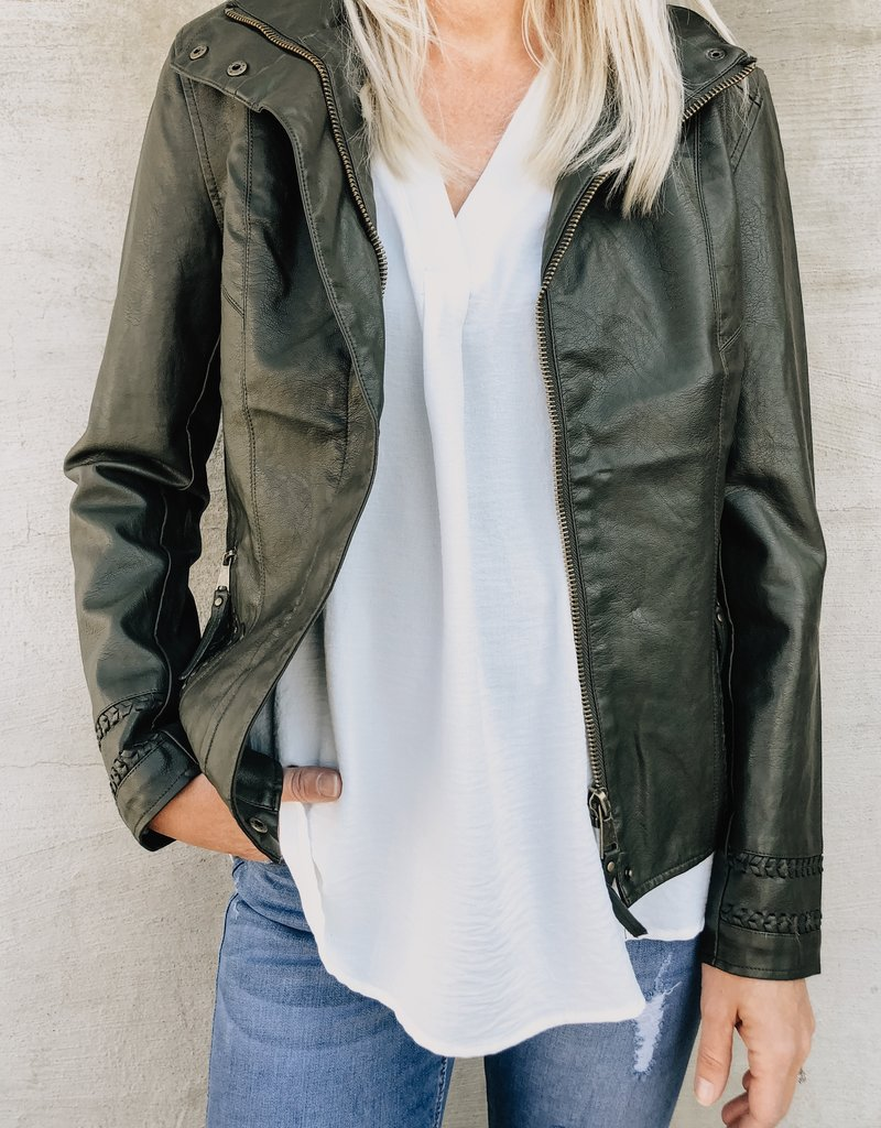 KUT From The Kloth The Brittney Moto Jacket