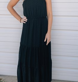 Ruffle Sleeveless Maxi Dress