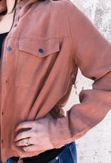 Washed Tencel Jacket