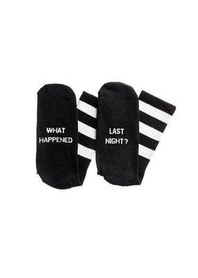 What Happened Last Night Socks
