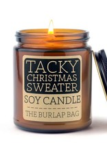 Soy Candle 9 oz Tacky Christmas Sweater