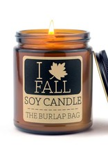 Soy Candle 9 oz I Love Fall