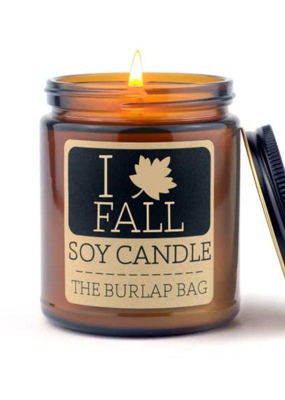 Soy Candle 9 oz I Love Fall